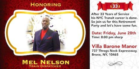 Train Dispatcher, Mel Nelson Retirement Party tickets