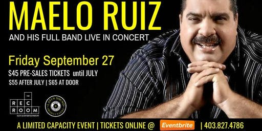 ★ MAELO RUIZ Live at The REC ROOM ★