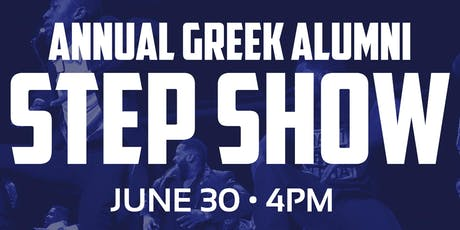 Annual Alumni Step Show tickets