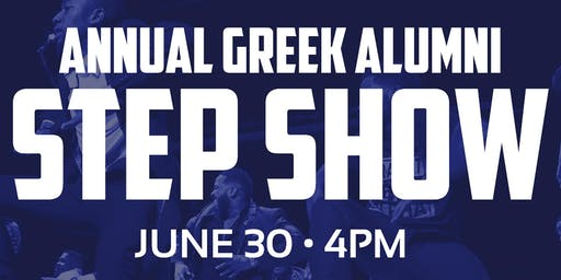 Annual Alumni Step Show