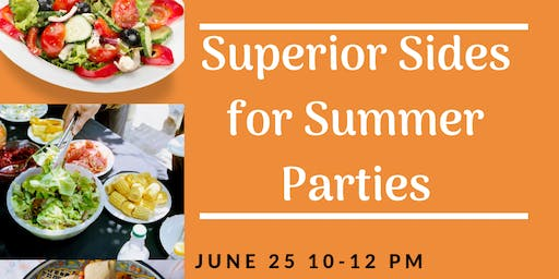Superior Sides for Summer Parties