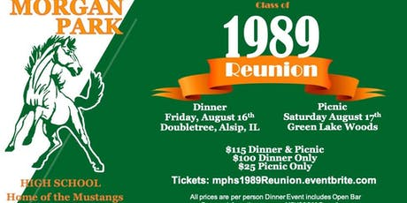 Morgan Park HS Class of 89 Reunion tickets