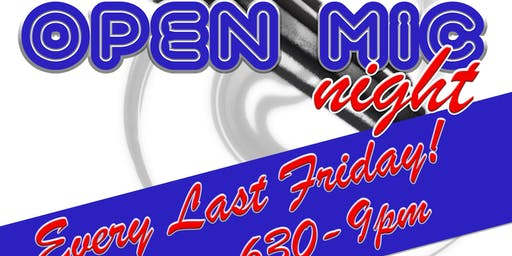 Open Mic/Karaoke Night!