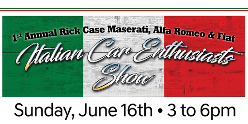1st Annual Rick Case Maserati & Alfa Romeo Italian Car Enthusiasts Show