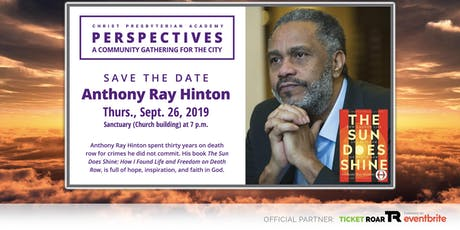 CPA Perspectives: Anthony Ray Hinton tickets