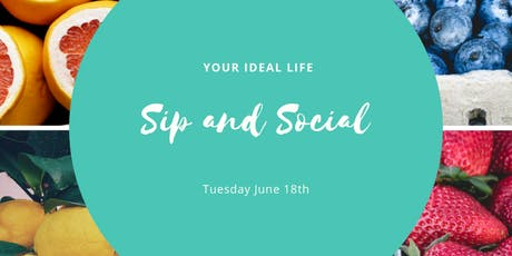 Sip and Social tickets