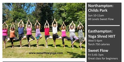 Yoga in Childs Park