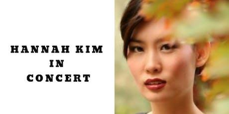 Hannah Kim in Concert tickets