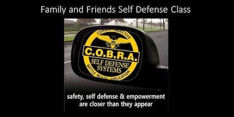Family & Friends Self-Defense Class tickets