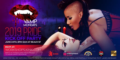 VAMP: 2019 Pride Kick-Off Party