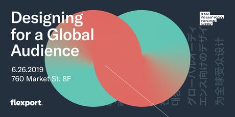 Designing for a Global Audience tickets