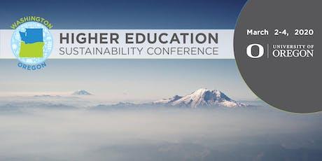 Washington & Oregon Higher Education Sustainability Conference (WOHESC) tickets