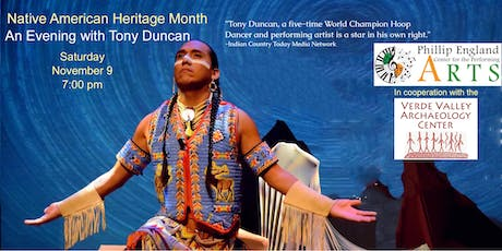 Native American Heritage Month with Tony Duncan tickets