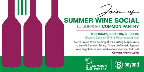 Common Pantry Summer Wine Social tickets