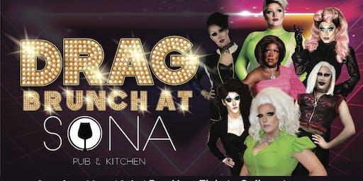 Drag Brunch at Sona Pub & Kitchen