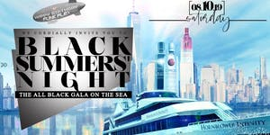 8.10 | BLACK SUMMERS NIGHT | Annual ALL BLACK Yacht...