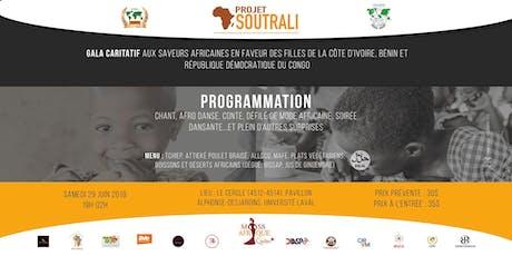 GALA CARITATIF AUX SAVEURS AFRICAINES EN FAVEUR DES FILLES DE LA CÔTE D'IVOIRE, BÉNIN ET RDC tickets