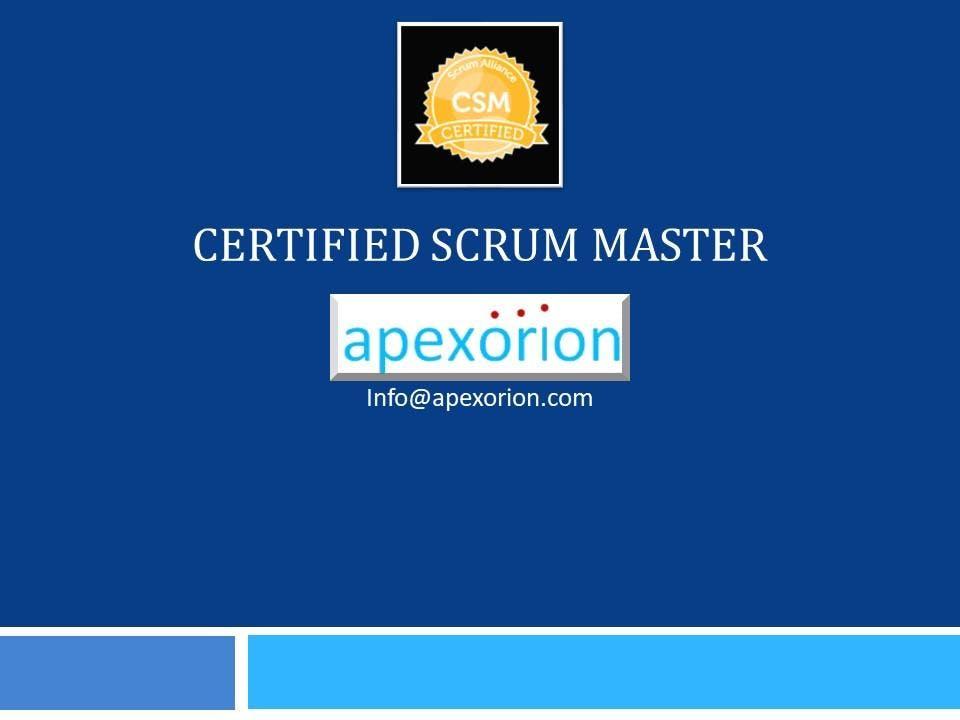 CSM (Certified Scrum Master) - Sep 25-26, Chandler, AZ
