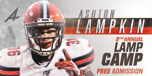 Ashton Lampkin Football Camp- Lamp Camp