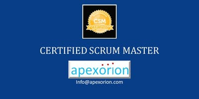 CSM (Certified Scrum Master) - Oct 15-16, Richmond, VA.