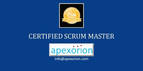 CSM (Certified Scrum Master) - Sep 30 - Oct 1, Santa Clara/San Jose, CA tickets