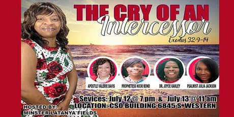 The Cry of An Intercessor  tickets