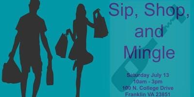 Sip, Shop, and Mingle