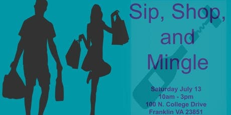 Sip, Shop, and Mingle tickets
