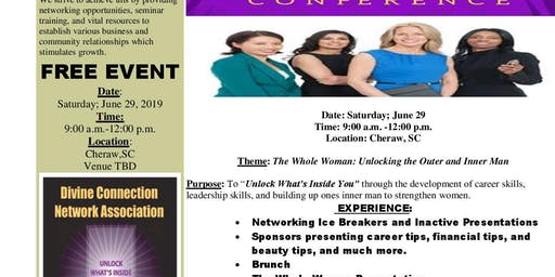 """Wise Women Win Team Leadership Conference purpose is to """"Unlock What's Inside You"""" through the development of career skills, leadership skills, and building the inner you with faith based teaching."""
