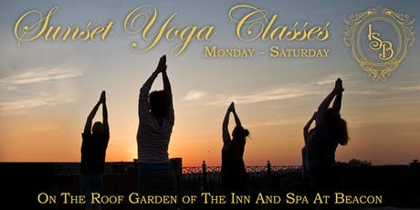 Sunset Yoga On The Roof Garden tickets