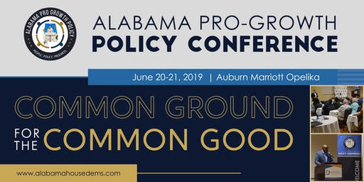 2019 Alabama Pro-Growth Policy Conference