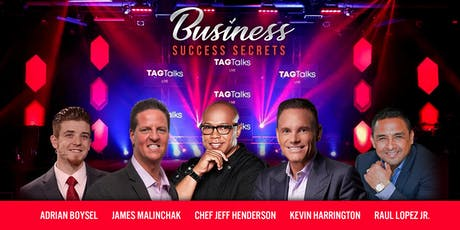 Business Success Secrets Conference tickets