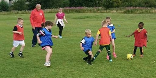 Braehead FC Summer Soccer School (5-6 year old week 1)