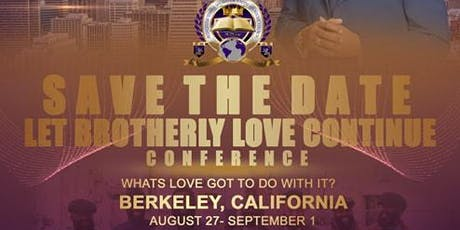 Let Brotherly Love Continue Conference tickets