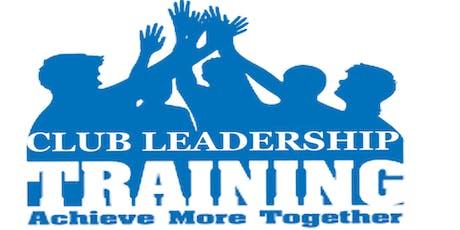 Club Leadership Training - Castle Hill tickets