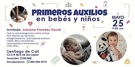 Primeros Auxilios en Bebés y Niños, Cómo reacciona entradas