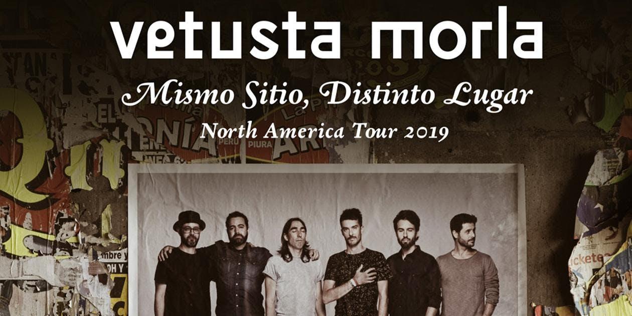 Vetusta Morla – MISMO SITIO, DISTINTO LUGAR NORTH AMERICAN TOUR 2019