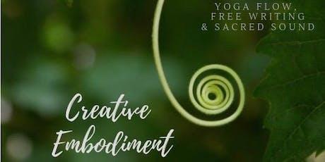 Creative Embodiment: Yoga, Free Writing & Sacred Sound tickets