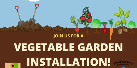 Vegetable Garden Installation and Community Clean-Up Event tickets