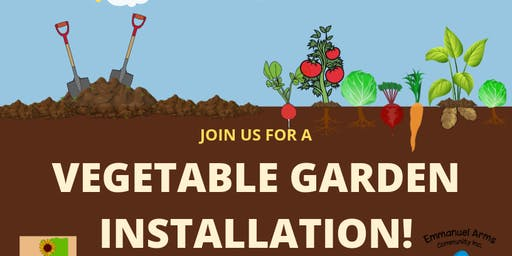 Vegetable Garden Installation and Community Clean-Up Event