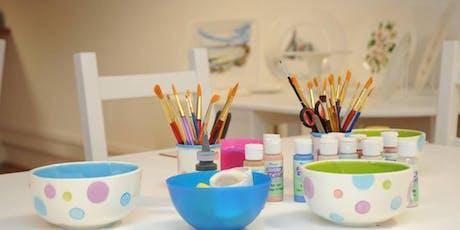 Ceramic painting in Brampton tickets