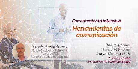Entrenamiento intensivo: herramientas de comunicación entradas