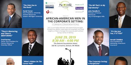 NAAAHR Presents: Men In Corporate Setting: Corner Conversations