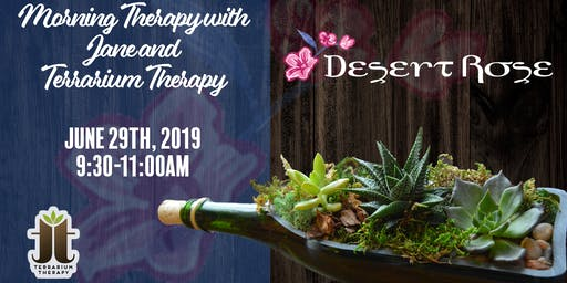 Private Event Invite Only- Morning Therapy With Jane and Terrarium Therapy