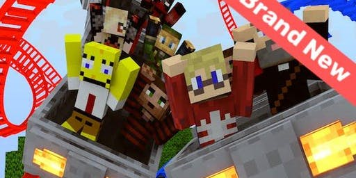 Minecraft Engineers: Rollercoaster Rockstars - Holiday Coding Camp for Kids