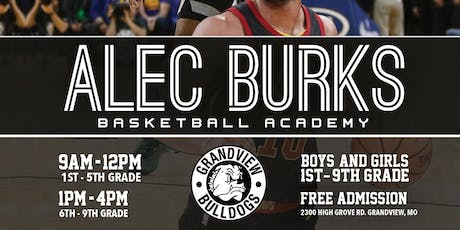 Alec Burks FREE Basketball Camp 1st- 5th Graders tickets