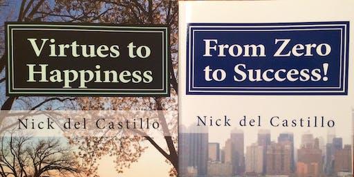 Patrias Restaurant hosts Motivational Speaker - Nick del Castillo