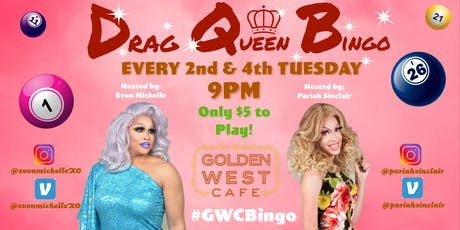Taco Tuesday and Drag Queen Bingo tickets