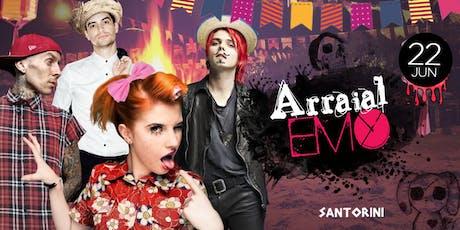 Arraial Emo em Santos! ingressos