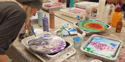Acrylic Pouring Paint Class